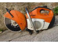 Stihl TS410 Petrol Stone / Asphalt Saw ~ New Blade