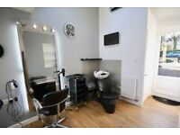 Hair salon/chair to rent with parking space