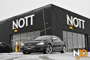 2012 Audi S5 4.2 Premium AWD, Htd leather, Parking Sensors, 354