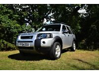 Freelander TD4 SE 5 door station wagon FSH Diesel Bargain Car Cheap car