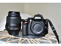 Nikon D5100 + 18-50mm lens + Tamron 70-300mm zoom lens,excellent condition