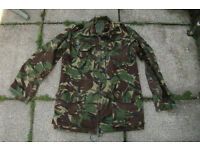 Vintage - British Army 1990 Issue DPM Temperate Combat Jacket size 180/104