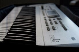 Korg Triton Le 61 Keys with soft black nylon case, ONO
