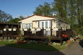 2 Bed Wooden Lodge, On Chichester Lake side Holiday Park