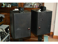 B&W Matrix 805 V Monitor/Hi-Fi Speakers Black Ash