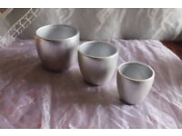 Flower pot set of 3