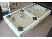 IKEA Magiker coffee tables (one large and one small)