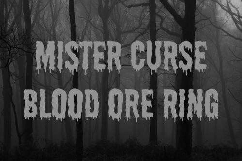 Mister Curse Revenge Ring Punish Others Justice Karma Pain Ritual Bad Negative