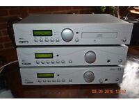 Aqoustic Solutions Audio Juekbox SP150, Amplifier SP101 plus DAB/FM Turner SP111