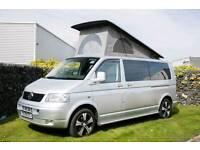 VW T5 LWB Pop Top Camper Van
