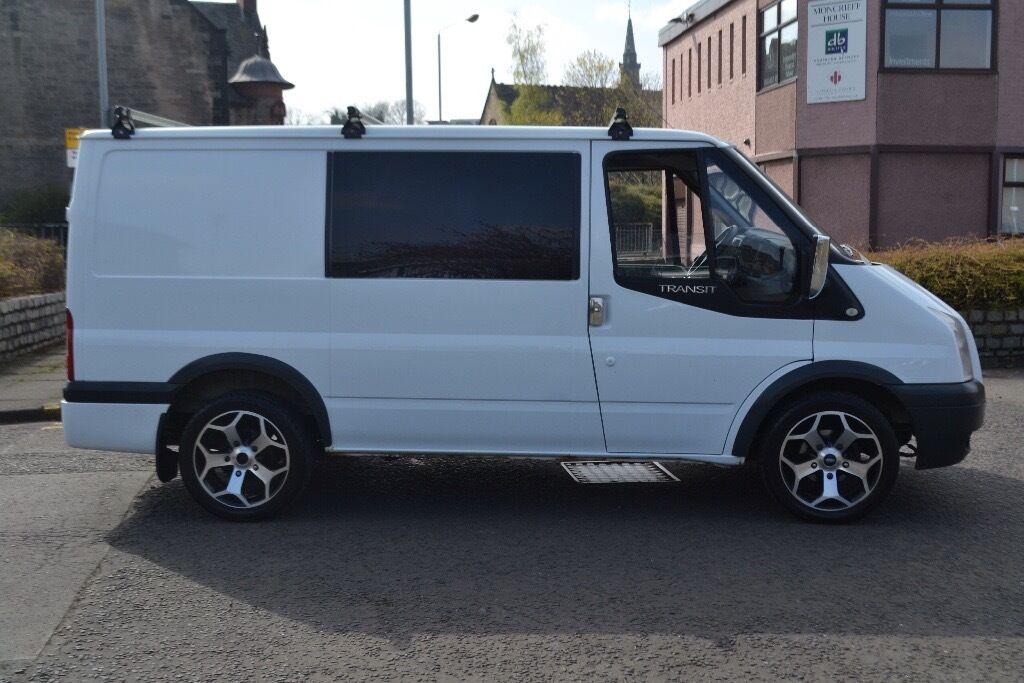 Ford Transit 6 Seater Crew Van St Lookalike In