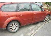 Ford Focus Ghia TDCI Diesel Estate spares or Repair