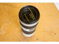 Canon EF 70-200mm F/4L USM Lens MINT condition