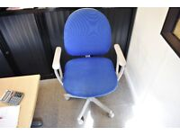 2 Swivel Office Chairs