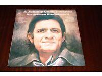 A Johnny Cash Portrait His Greatest Hits Vol II Vinyl LP Record