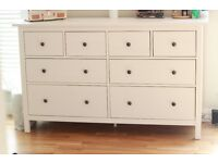 IKEA Hemnes Chest of 8 Drawers White