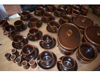 Vintage - Wedgwood Sterling Brown oven-to-tableware Crockery