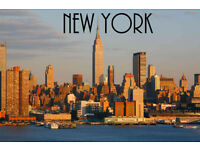2 tickets London to New York, August 14th