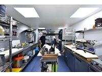 Commercial Kitchen in Bermondsey to rent