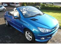 2005 Peugeot 206cc 1.6 16v Allure 2dr Convertible Manual * Trade to clear*
