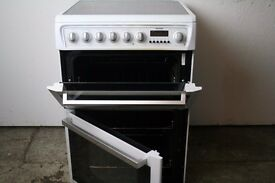 Hotpoin 60cm Cooker, White, Refurbished, 1 Year Warranty, Delivery and Install Available