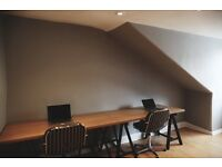 Fixed Desk Space in the City Centre for £150 per month