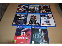11 PS4 Games for sale