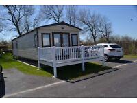 Luxury platinum graded caravan sited in Burnham on Sea Holiday Village. Somerset.