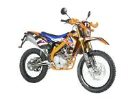 Rieju Maraton Pro 125cc - Orange (Euro 3) 2 Yrs Parts & Labour Warranty - 0% Finance Available