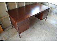 Large Engineers Desk bought from from Jaguar Cars. Made by President Furniture.