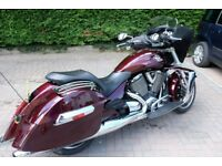 Victory Cross Country, not Harley, Touring V Twin