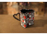 PARIS GIFT MUG CUP PRESENT SOUVENIR FRANCE FRENCH HOLIDAY LOVE HEART