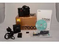 Nikon D7000 Camera Body & Photoshop Elements included