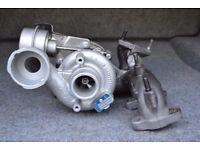 Turbocharger for Volkswagen T5 Transporter - 1.9 TDI, 85/105 BHP, 63/77 kW. Turbo 54399880020.