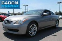 2009 INFINITI G37 COUPE AWD X, AC,CUIR, TOIT, MAGS
