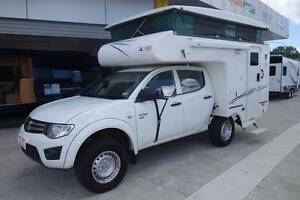 2011 Talvor Mitsubishi Triton 4WD Outback Camper Northgate Brisbane North East Preview