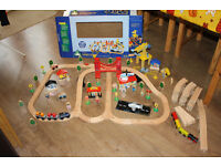 Wooden train set (Early Learning Centre)