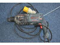 Bosch Hammer drill - 110 v.