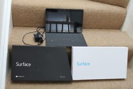 Microsoft Surface RT 32GB with dark titanium touch cover, Wi-Fi, 10.6in,