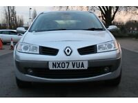 RENAULT MEGANE 1.6CC DYNAMIQUE YEAR 2007 EXCELLENT DRIVE £1300 OR OFFER