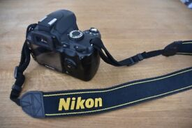 Nikon D60 DSLR Body Only - Excellent Condition (£80 ONO)