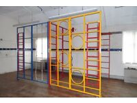 GYM CLIMBING FRAMES FOR CHILDREN OF PRIMARY SCHOOL AGE