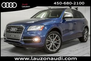 2016 Audi SQ5 TECHNIK NAV B&O CUIR CAMERA