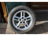 """Land Rover Alloy 18"""" Wheel and Tyre"""