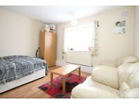 One nice King size bed room is available in a two bed room flat.