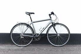Marin fairfax hybrid bicycle CARBON FORK lightweight (new parts) size 17.5 9.9 kg