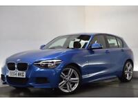 BMW 1 SERIES 1.6 116I M SPORT 5d 135 BHP (blue) 2015