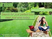 From £20/Hr Find Maths/Physics/ Chemistry/Biology/English Tutor –'Select My Tutor' (GCSE & A-Level)