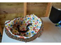 Bumfy shopping trolley/ high chair/ swing seat cover