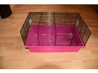 Small pink cage